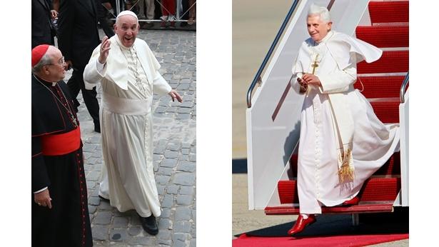 Kolor butów papieża